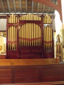 Hill organ